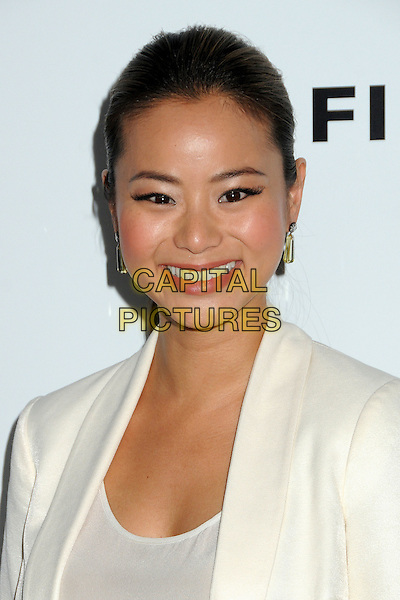 Jamie Chung.CBS Films' U.S. Premiere of 'Salmon Fishing In The Yemen' held at The Directors Guild of America in West Hollywood, California, USA..March 5th, 2012.headshot portrait white jacket top smiling .CAP/ADM/BP.©Byron Purvis/AdMedia/Capital Pictures.