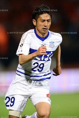Koki Mizuno (Ventforet),.APRIL 10, 2013 - Football / Soccer :.2013 J.League Yamazaki Nabisco Cup Group A match between Omiya Ardija 1-3 Ventforet Kofu at NACK5 Stadium Omiya in Saitama, Japan. (Photo by AFLO)