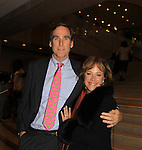 """One Life To Live's Hillary B. Smith """"Nora Buchanan"""" and husband - Red Carpet at New York Premiere Event for beloved series """"One Life To Live"""" on April 23, 2013 at NYU Skirball, New York City, New York - as The Online Network (TOLN) - OLTL - AMC begin airing on April 29, 2013 on Hulu and Hulu Plus.  (Photo by Sue Coflin/Max Photos)"""