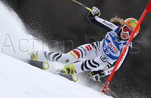 21.01.2012. Ski Alpine FIS WC Kranjska Gora RTL women  Ski Alpine FIS World Cup Giant slalom for women Picture shows Lena Duerr ger