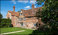 BNPS.co.uk (01202 558833)<br /> Pic: PhilYeomans/BNPS<br /> <br /> The present ramshakle house is far smaller than the Tudor pile built by Sir John Seymour in the 16th century.<br /> <br /> Historic Wolf Hall, home to the Seymour family and star of Hilary Mantel's famous trilogy on Henry VIII th, has finally been definitively located after new discoveries around the much smaller ramshackle house that remains today. <br /> <br /> Despite it's fame, nobody really knew where the enormous Tudor pile actually was, or what it looked like, due to its very short but very influential existance in the middle of the tumultuous 16th century.<br /> <br /> Built with a million pound loan (&pound;2,400) from King Henry in 1531, brokered by Thomas Cromwell, the huge house was rapidly brick built in time for the King's pivotal visit with the court and troublesome wife Anne Boleyn in 1535, at which point Sir John Seymour's daughter Jane caught his eye, within a year Anne was dead and Jane, and the rest of the Seymour clan were in.<br /> <br /> They benefitted massively from Royal patronage and the dissolution of the monastries, but it all went wrong when Henry died and the brothers fell out and were later executed in a spectacular fall from power only 21 years after the house was built.<br /> <br /> Historian Graham Bathe and his team have now uncovered part of the outline of the original building, as well as the extensive Tudor brick sewer system that proves the huge scale of the 16th century mansion.