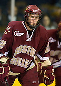 Paul Carey (BC - 22) - The Merrimack College Warriors defeated the Boston College Eagles 5-3 on Sunday, November 1, 2009, at Lawler Arena in North Andover, Massachusetts splitting the weekend series.