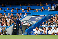 Chelsea manager, Frank Lampard during the Premier League match between Chelsea and Sheff United at Stamford Bridge, London, England on 31 August 2019. Photo by Carlton Myrie / PRiME Media Images.