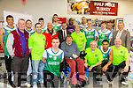 At the Launch of the Garvey's SuperValu sponsorship of the Tralee Warriors on Tuesday
