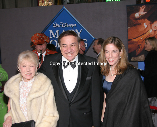 Richard Sherman &amp; family<br />&quot;Mary Poppins&quot; 40th Anniversary and Launch of the Special Edition DVD<br />El Capitan Theatre<br />Hollywood, CA, USA<br />Tuesday, November 30th, 2004<br />Photo By Celebrityvibe.com/Photovibe.com, <br />New York, USA, Phone 212 410 5354, <br />email: sales@celebrityvibe.com