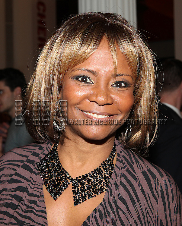 Tonya Pinkins attending the Unveiling of the Revitalized Public Theater at Astor Place in New York City on 10/4/2012.