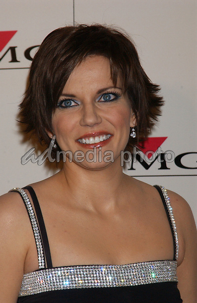 Feb. 8, 2004; Hollywood, CA, USA; Singer MARTINA MCBRIDE during the BMG 46th Annual Grammy Awards Post-Grammy Gala Celebration held at The Avalon. Mandatory Credit: Photo by Laura Farr/AdMedia. (©) Copyright 2003 by Laura Farr
