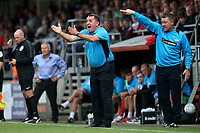 Chesterfield manager Martin Allen during Dagenham & Redbridge vs Chesterfield, Vanarama National League Football at the Chigwell Construction Stadium on 15th September 2018
