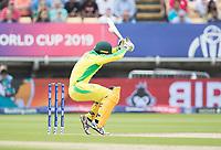 Alex Carey (Australia) takes evasive action during Australia vs England, ICC World Cup Semi-Final Cricket at Edgbaston Stadium on 11th July 2019