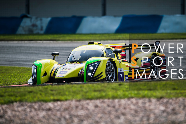 ARC Bratislava, #7 Ginette LMP3, driven by Neale Muston and Konstantins Calko in action during the 2016-2017 Asian Le Mans Series Round 1 at Zhuhai Circuit on 30 October 2016, Zhuhai, China.  Photo by Marcio Machado / Power Sport Images