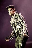 Adam Lambert Ghost Town Halloween concert