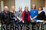 Pictured at the Wild Atlantic Way briefing in the Ring of Kerry Hotel on Tuesday evening were l-r; Dessy Cronin(Ballinskelligs Cotages), Maura Keating(Ring of Kerry Hotel), Tiernan Clarke(Lemonrock Motorcycle Rental Killarney), Jo O'Driscoll(Manager WAW), David Mills(Manager The Old Barracks, Cahersiveen) & Caroline Donnelly(Eagle Rock Equestrian Caherdaniel).