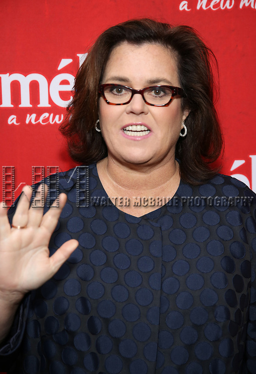 Rosie O'Donnell attends the Broadway Opening Night performance of 'Amelie' at the Walter Kerr Theatre on April 3, 2017 in New York City
