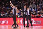 League ACB-ENDESA 2017/2018 - Game: 20.<br /> FC Barcelona Lassa vs Retabet Bilbao Basket: 90-58.<br /> Veljko Mrsic &amp; Jaka Lakovic.