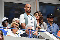 FLUSHING NY- SEPTEMBER 05: Boris Kodjoe and Nicole Ari Parker are seen watching Venus Williams Vs Pliskova on Arthur Ashe Stadium at the USTA Billie Jean King National Tennis Center on September 5, 2016 in Flushing Queens. Credit: mpi04/MediaPunch