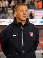 Chris Woods, coach of the goalkeeper of team USA, during the friendly match Belgium against USA at King Baudoin stadium in Brussel, Belgium on September 06th, 2011.