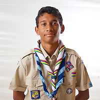 Scout from Mauritius.