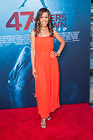 Los Angeles, CA - AUGUST 13th: <br /> Shaun Robinson attends the 47 Meters Down: Uncaged premiere at the Regency Village Theater on August 13th 2019. Credit: Tony Forte/MediaPunch