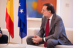 Secretary General for the Partido Popular received in the Moncloa to the secretary general of Ciudadanos, Albert Rivera in Madrid, December 28 2015. <br /> (ALTERPHOTOS/BorjaB.Hojas)