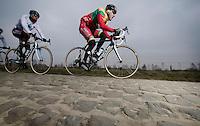 Paris-Roubaix 2013 RECON..Gediminas BAGDONAS (LTU)..