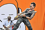 Michael Franti & Spearhead perform during the Hangout Music Fest in Gulf Shores, Alabama on May 20, 2012.