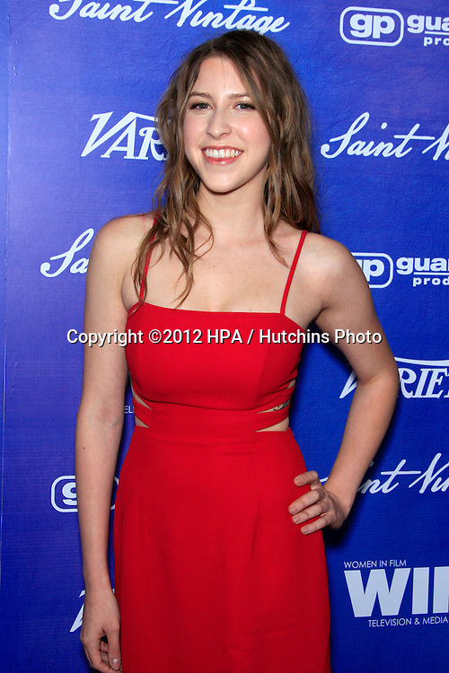 LOS ANGELES - SEP 21:  Eden Sher arrives at the Variety and Women in Film Pre-Emmy Event at Scarpetta on September 21, 2012 in Beverly Hills, CA