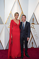 Oscar&reg; nominee Allison Janney and Richard Jenik arrive on the red carpet of The 90th Oscars&reg; at the Dolby&reg; Theatre in Hollywood, CA on Sunday, March 4, 2018.<br /> *Editorial Use Only*<br /> CAP/PLF/AMPAS<br /> Supplied by Capital Pictures