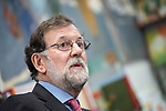 "The former president of the government, Mariano Rajoy, in the presentation of the book ""Cada dia tiene su afan"" by former minister Jorge Fernandez Diaz.<br /> October 10, 2019. <br /> (ALTERPHOTOS/David Jar)"