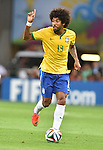 Dante (BRA),<br /> JULY 8, 2014 - Football / Soccer :<br /> FIFA World Cup Brazil 2014 Semi-finals match between Brazil 1-7 Germany at Estadio Mineirao in Belo Horizonte, Brazil. (Photo by SONG Seak-In/AFLO)