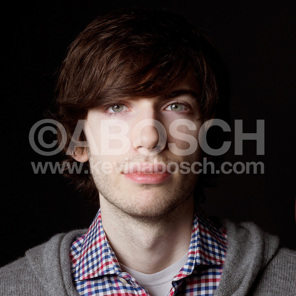 Portrait of Tumblr founder David Karp photographed by Kevin Abosch
