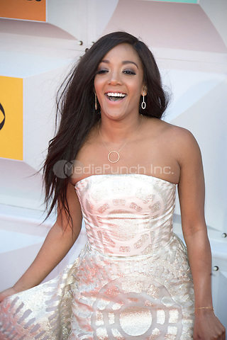 LAS VEGAS, NV - APRIL3: Mickey Guyton arriving to the 51st Academy Of Country Music Awards at the MGM Grand Garden Arena in Las Vegas, Nevada on April 3, 2016. Credit: Erik Kabik Photography/MediaPunch
