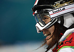 VANCOUVER, BC - FEBRUARY 13:  Aiko Uemura of Japan looks on after his first run during the Women's Freestyle Mogul Prelims at the 2010 Vancouver Winter Olympics at Cypress Mountain on February 13, 2010 in Vancouver, Canada. (Photo by Donald Miralle)
