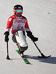 Taiki Morii (JPN), <br /> MARCH 13, 2018 - Alpine Skiing : <br /> men's Super Combined  Sitting <br /> at Jeongseon Alpine Centre  <br /> during the PyeongChang 2018 Paralympics Winter Games in Pyeongchang, South Korea. <br /> (Photo by Sho Tamura/AFLO)