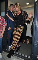 Kate Moss at the HENI Gallery x Adidas &quot;Prouder&quot; project private view &amp; party, HENI Gallery, Lexington Street, London, England, UK, on Tuesday 03 July 2018.<br /> CAP/CAN<br /> &copy;CAN/Capital Pictures