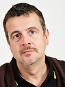 Mark Billingham former stand up commedian and now crime writer of the Di Tom Thorne books.. CREDIT Geraint Lewis