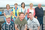 BLESSING: Attending the annual Mass and blessing of the boats by Fenit resident Fr Gearoid O? Donnachda at Brandon Pier last Sunday were front l-r: Eddie O'Mahony, Colin Scott and Declan McTaggart. Back l-r: Rose Moriarty, Teresa and Veronica Freeman, Mary Murphy and Mi?cheal Moore.