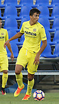 Villarreal's Rodrigo Hernandez during the XXXVII trophy of Legane's City between CD Leganes and Villarreal CF at Butarque Stadium. August 13, 2016. (ALTERPHOTOS/Rodrigo Jimenez)