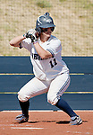 April 20, 2012:   Nevada Wolf Pack Chelsea Venable at the plate against the University of Hawai'i Warrior during their NCAA softball game played at Christina M. Hixson Softball Park on Friday in Reno, Nevada.