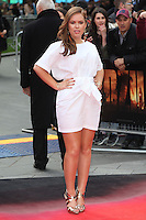 Tanya Burr arriving for the European premiere of Godzilla, at Odeon Leicester Square, London. 11/05/2014 Picture by: Alexandra Glen / Featureflash