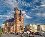Krakow 2019-07-20. Rynek Główny w Krakowie