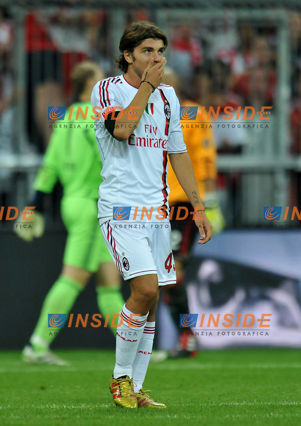 "Alberto PALOSCHI (Milan) .FC Bayern München Vs AC Milan.Football Calcio AUDI CUP 2011/2012 .Monaco di Baviera 26/7/2011 Stadio ""Allianz Arena"".Foto Alessandro Sabattini Insidefoto"