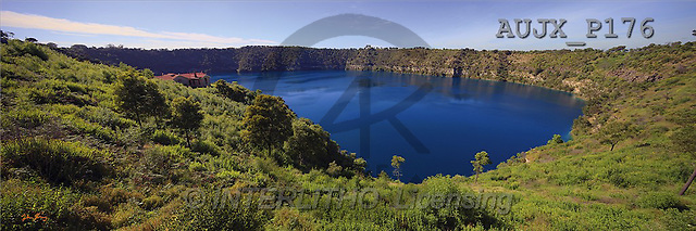 Dr. Xiong, LANDSCAPES, panoramic, photos, Blue Lake, Australia(AUJXP176,#L#)