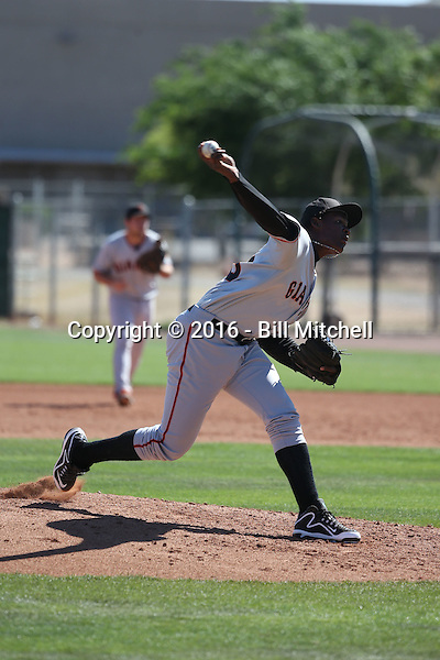 Melvin Adon - San Francisco Giants 2016 spring training (Bill Mitchell)