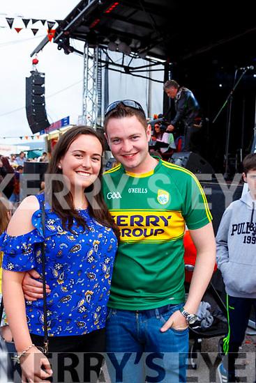 Timothy Cronin and Zoe Mchale Gneeveguilla enjoying Bike fest in Killarney on Sunday