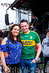 Timothy Cronin and Zoe Mchale Gneeveguilla enjoying Bike fest in Killarney on Sunday