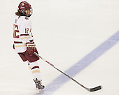 Kenzie Kent (BC - 12) - The Boston College Eagles defeated the visiting Providence College Friars 7-1 on Friday, February 19, 2016, at Kelley Rink in Conte Forum in Boston, Massachusetts.