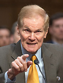 "United States Senator Bill Nelson (Democrat of Florida)  testifies before the US Senate Committee on the Judiciary during ""an oversight hearing to examine the Parkland shooting and legislative proposals to improve school safety"" on Capitol Hill in Washington, DC on Wednesday, March 14, 2018.<br /> Credit: Ron Sachs / CNP"