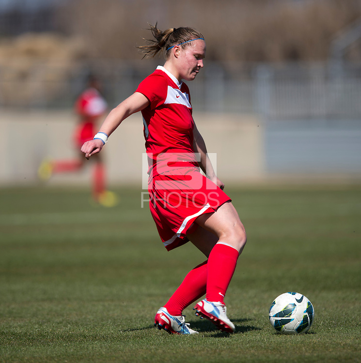 Casey Berrier. The Washington Spirit defeated the North Carolina Tar Heels in a preseason exhibition, 2-0, at the Maryland SoccerPlex in Boyds, MD.