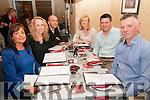 50th Birthday : John Dillon, Duagh celebrating his 50th birthday  with family & friends at Eabha Joan's Restaurant, Listowel on Saturday night last. L- R : Donna Dillon, Paula & Steve Warson, Niamh Stack, Bartley Galvin & John Dillon.