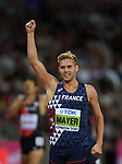 Kevin MAYER (FRA) in the mens decathlon 400m. IAAF world athletics championships. London Olympic stadium. Queen Elizabeth Olympic park. Stratford. London. UK. 11/08/2017. ~ MANDATORY CREDIT Garry Bowden/SIPPA - NO UNAUTHORISED USE - +44 7837 394578